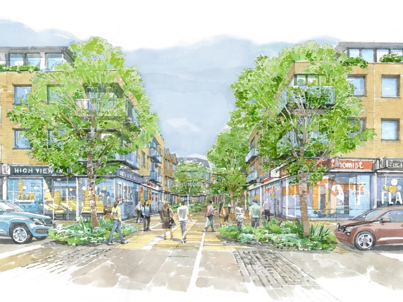 Development agreement signed for £45m Hatfield redevelopment programme