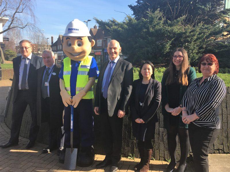 Work starts in Hatfield town centre!