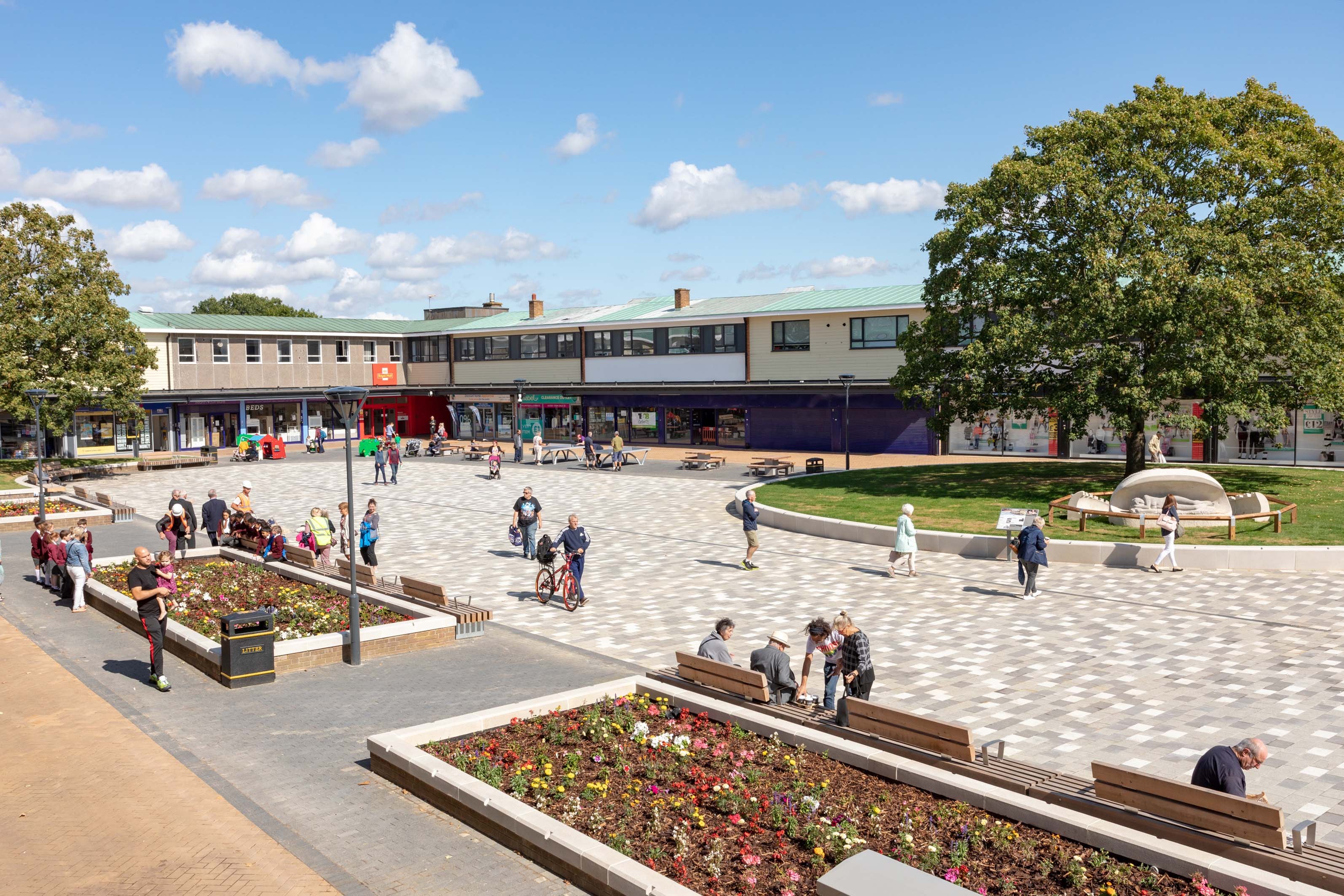 First stage of Hatfield's regeneration completes