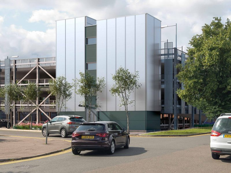 Planning approval for multi-storey to unlock regeneration